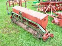 "Model GLP 64-01 5'4"" wide, 3point hitch, nice shape,"