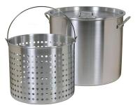 The Brinkmann Aluminum Boiling Pot with 80 qt. Strainer