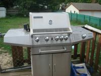 We are offering our Brinkmann gas grill which works