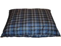 This 42 in. x 52 in. pet bed features a custom plaid