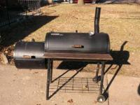 Brinkmann Pit Master Deluxe smoker for sale.  Well