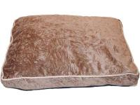 This 27 in. x 36 in. gusseted pet bed features soft