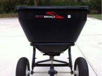 Brinky lawn spreader in good condition  Location: