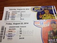 SELLING 6 TICKETS FOR FRIDAY RACE AND 6 TICKETS FOR