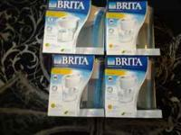 I have 4 Brita water pitchers 6 cups capacity. I have 3