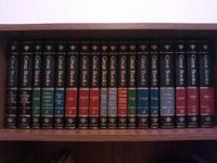 Im selling a full set of Leather bound Britannica