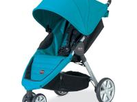 The B-AGILE Stroller from BRITAX is a lightweight,