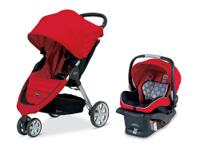 Designed to be an on-the-go travel system, the Britax