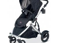 The new B-READY stroller from BRITAX is a versatile,