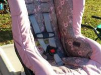Convertible reclining car seat Excellent condition No