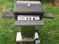 This is a Broilmaster Grill stamped made in the USA in