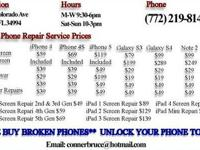 We fix your iPhone, iPad, and Samsung phones! We offer