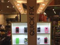 QUICK FIX in Visalia Mall (IN FRONT OF JOURNEYS AND