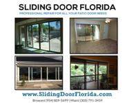 BROKEN SLIDING GLASS DOOR REPAIR &