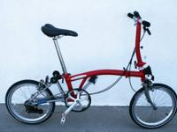 Available is a new Brompton S2EX Superlight titanium