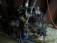 Nice running 5.0 EFI engine from 1989 Ford Bronco