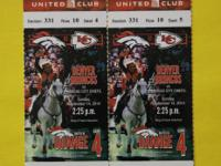 Denver Broncos vs Kansas City Chiefs, Sept 14, 2014.  2