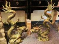 Chinese dragons are legendary creatures in Chinese