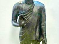 This bronze Sukothai standing Buddha came from middle