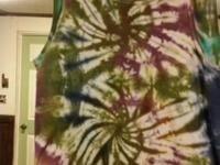 I run a out if my home tie dye business. That I make