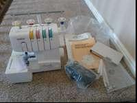 Brother 1034D Serger (Never Been Used). Compact