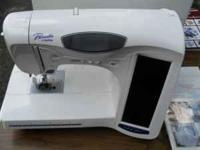 Brother 2001 ULT- Sewing and Embroidery machine with