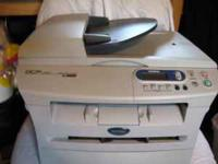 This is a brother DCP-7020 Printer, copier and scanner.