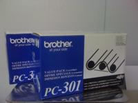 Brand New still in box Brother PC-301 printing