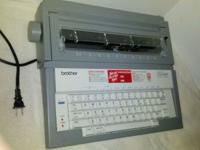 brother GX-6000 Electric Typewritter - Excellent