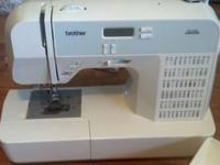 Stitch it up with the Brother HS1000 computerized