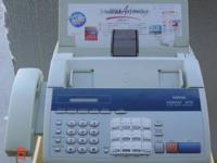 Small business plain paper business Fax. Fax machine is