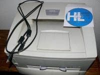 Ten year old Brother HL-1240 laser printer, with