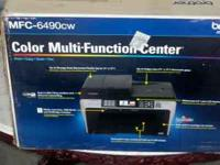 This is a Brother MFC 6490cw printer. This printer is