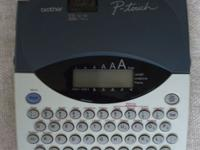Brother P-touch Label Maker - $10 (Modesto), used for sale  Modesto