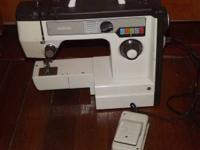 BROTHER SEWING MACHINE IN GOOD CONDITION. OLDER (NOT
