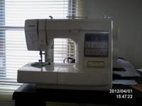 VERY NICE SEWING MACHINE NO EMAIL, NO TEXT HOME NUMBER