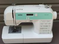 Brother CS100 Sewing Machine with all original parts