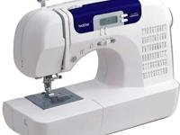 BROTHER Sewing Machine-- 6000i-- 60 Built-In Stitches,