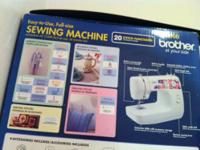 for sale one used brother vx 1120 sewing machine. in
