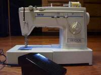Brother vx1005 sewing machine that has foot control