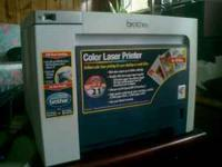 I want to sell my color laser printer. It works great,