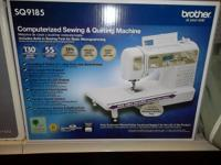 For sale: Brother SQ9185, electronic Sewing/Quilting