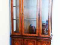 Broyhill Lighted Curio/China Cabinet. 35 inches by 74