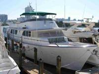 This 1973 Broward Motor Yacht is one of the finest