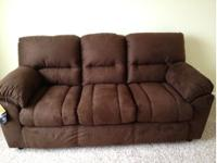 New Brown Ashley Sofa Still has tags on it Purchase for