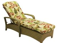 Brown Jordan Havana Chaise Lounge with Cushion, finish