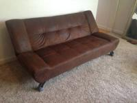 Dark Brown Sleeper Sofa. It is made by Klik Klak if you