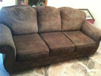 Have a Very Nice Dark Brown Couch for sale. Great