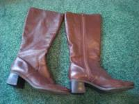 Womens 8.5W.Lines. All leather. made in Brazil. Very