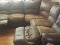 I have a very comfortable reclining brown leather